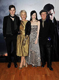 Pictures of Sam Riley, Helen Mirren, Andrea Riseborough, and John Hurt at Brighton Rock Premiere in London
