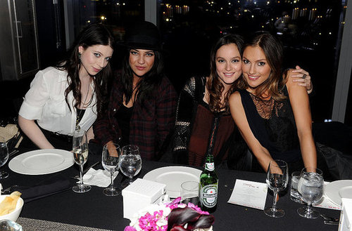 Pictures of Leighton Meester, Minka Kelly, Kanye West, Jessica Szohr and Jared Leto at Nylon bash