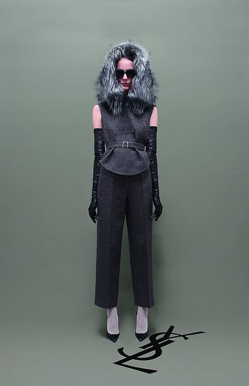 Stefano Pilati Mixes Vintage and New Elements For Yves Saint Laurent's Pre-Fall 2011 Collection