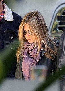 Pictures of Jennifer Aniston at a SmartWater Shoot
