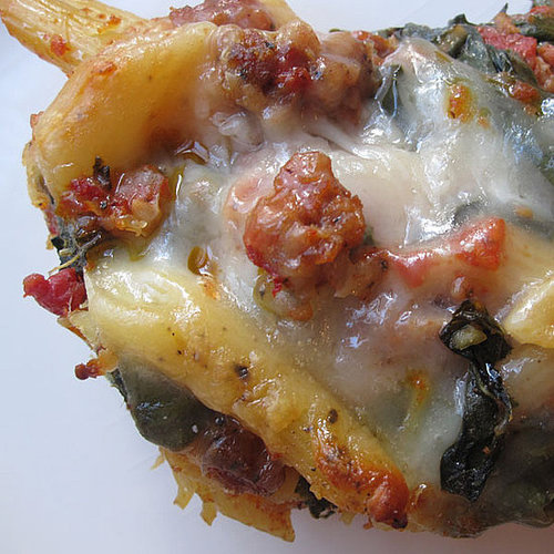 Baked Penne With Sausage and Chard Recipe