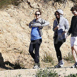 Natalie Portman Takes a Hike With Her Baby Bump