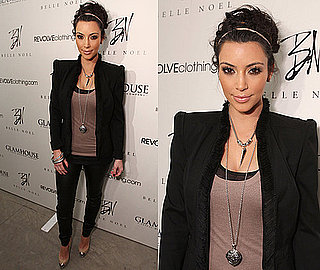 Kim Kardashian Launches Her New Jewelry Line Belle Noel 2011-02-04 09:49:17