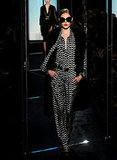 Diane von Furstenberg and Yvan Mispelaere Show a Glitzy and Glamorous Collection For Fall 2011