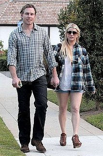 Pictures of Jessica Simpson and Eric Johnson Getting Lunch in LA