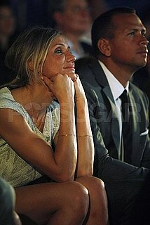 Pictures of Cameron Diaz and Alex Rodriguez in the Dominican Republic For a Baseball Event
