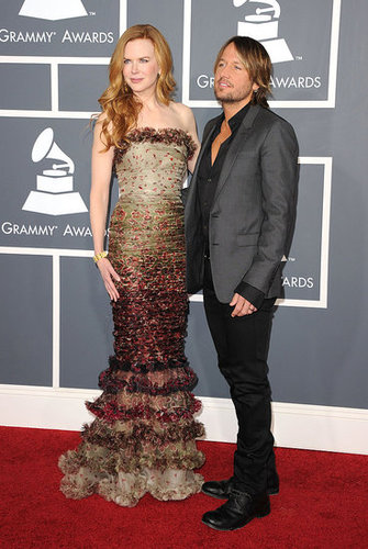 Pictures of Nicole Kidman on the Red Carpet at the 2011 Grammy Awards 2011-02-13 18:17:27