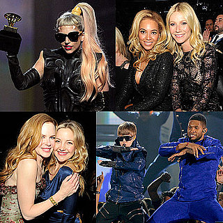 Pictures of the 2011 Grammys Show With Gwyneth Paltrow, Eva Longoria, Justin Bieber, Usher, Lady Gaga and More 2011-02-13 22:27:20