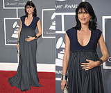 Selma Blair in Lanvin at Grammys 2011