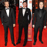 Pictures of Men on BAFTAs Red Carpet Including James McAvoy, Gerard Butler, Nicholas Hoult, Rupert Grint, and More