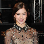 Photos of Hailee Steinfeld at the 2011 BAFTA Awards in Miu Miu