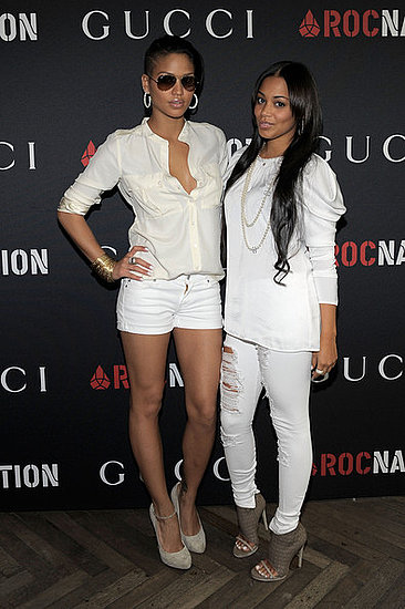 Cassie and Lauren London(Pre-Grammy Party)