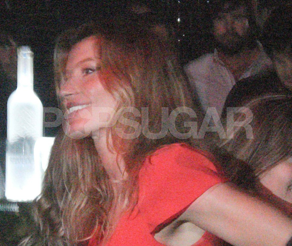 Demi Moore Lets Loose in a Bra With Ashton and Gisele in Brazil
