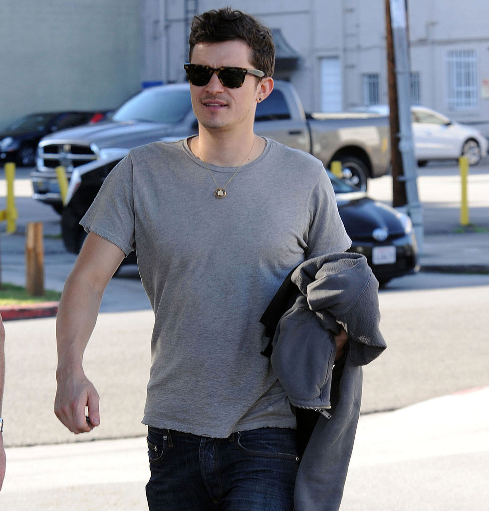 Happy Dad Orlando Bloom Treats Himself to a Social Weekend