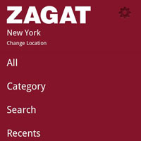 Zagat App For Android