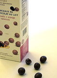 Dufflet Milk Chocolate Morsels With Blueberries + Valencia Orange