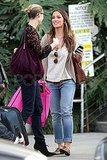 Minka Kelly Makes a Stop by Chelsea Lately For Her Hit Film