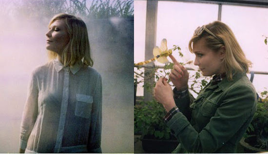 Kirsten Dunst Models Boy by Band of Outsider's Spring Collection