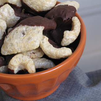 Photo Gallery: Chocolate-Dipped Chicharrónes