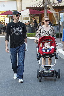 Pictures of Amy Adams, Darren Le Gallo and Aviana Le Gallo Shopping at The Grove in LA