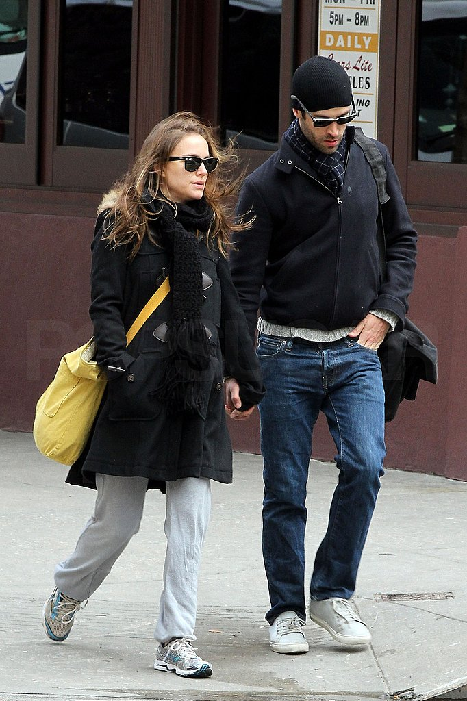Pictures of Natalie Portman With Fiance Benjamin Millepied in NYC