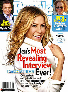 "Jennifer Aniston Thinks People Want to See Her ""Married and Barefoot and Pregnant"" — Do You Agree?"