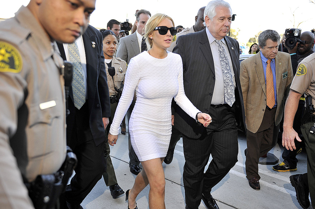 Lindsay Lohan Formally Charged With a Felony, Pleads Not Guilty