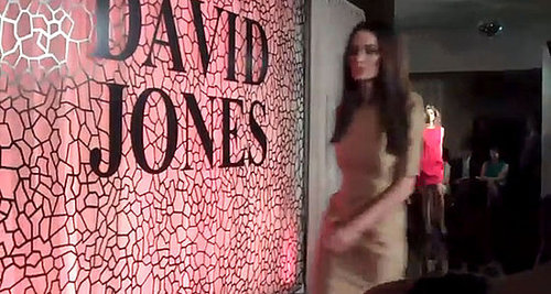 See the 2011 David Jones A/W Catwalk Show Show In Action: Video Footage on FabSugar Australia