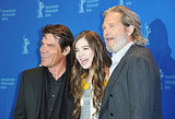 Hailee Steinfeld, Josh Brolin, and Jeff Bridges at a True Grit Photocall in berlin