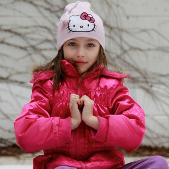 Strike a Valentine's Day Yoga Pose! 5 Festive Stretches For Kids