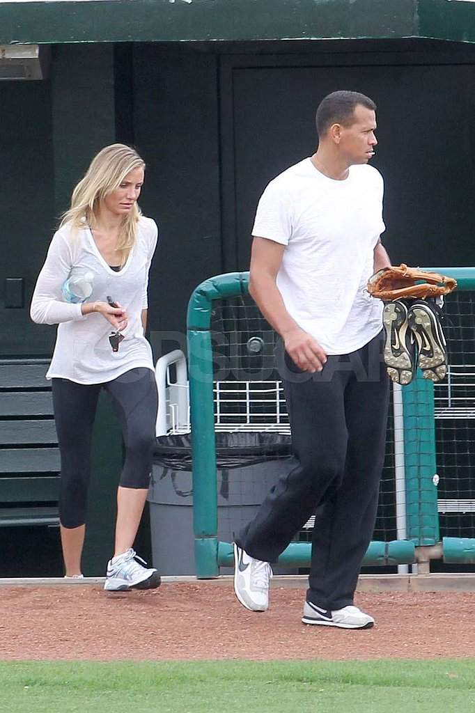 Cameron Diaz Works Out With Hot, Shirtless ARod