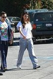 Mila Kunis Makes a Coffee Stop in Sweats