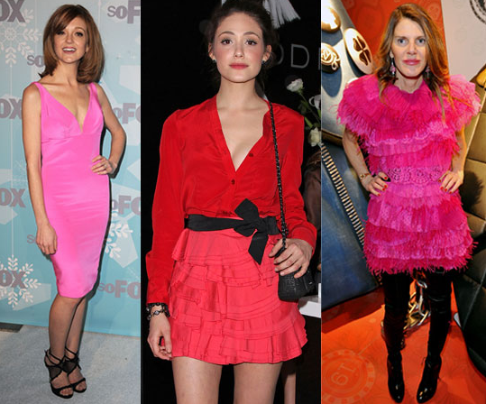 Here's more inspiration for V-Day — celebs in pink and red.