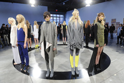 Fall 2011 New York Fashion Week: Kimberly Ovitz