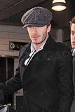 David Beckham Jets to the Big Apple For Valentine's Day With Posh