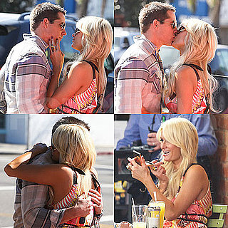Pictures of Paris Hilton Enjoying PDA With Her Boyfriend Cy Waits