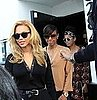 Pictures of Beyonce Knowles With Solange Knowles and Kelly Rowland on Valentine's Day
