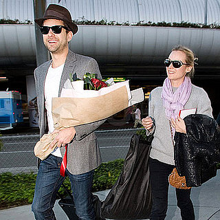 Pictures of Joshua Jackson and Diane Kruger at LAX