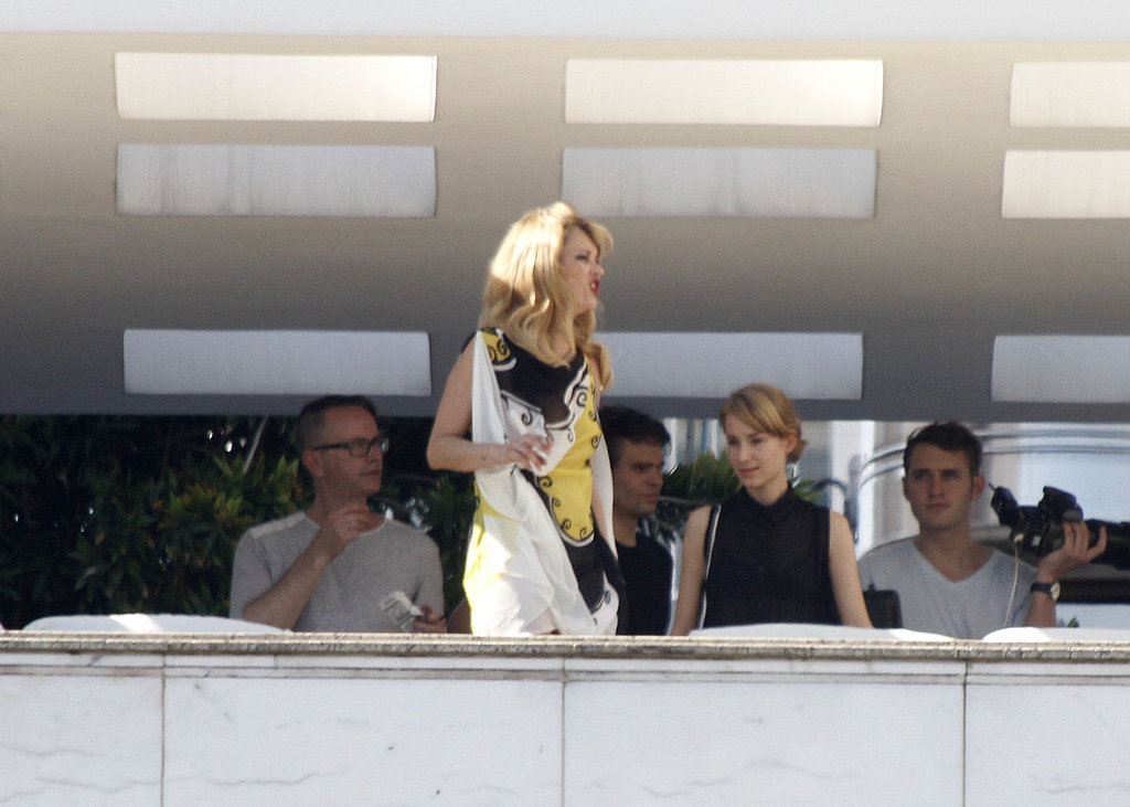 Kate Moss Gets Camera Ready For Mario Testino