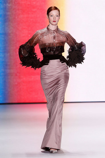 Fall 2011 New York Fashion Week: Carolina Herrera