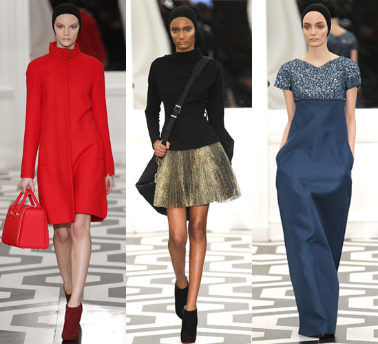 Victoria Beckham Collection for Autumn Winter 2011