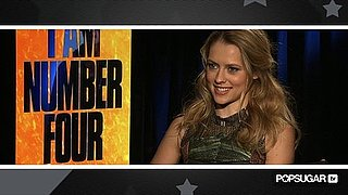 Video of Teresa Palmer Talking About I Am Number Four