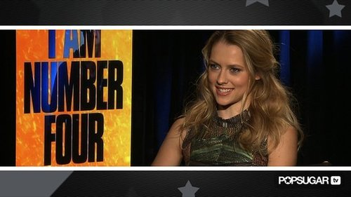 Video Interview of Teresa Palmer Talking About Fight Scenes in I Am Number Four