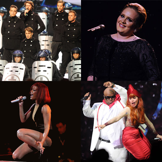 Stars Take to the O2 Stage For the Brit Awards Show!