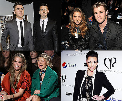 Pictures of Celebrities at 2011 Fall New York Fashion Week