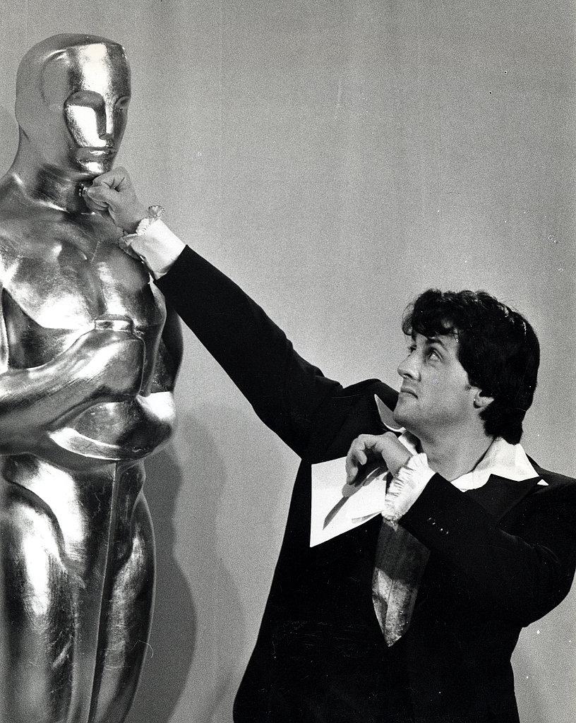 Sylvester Stallone, 1977.