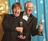 Elton John and Tim Rice, 1995.