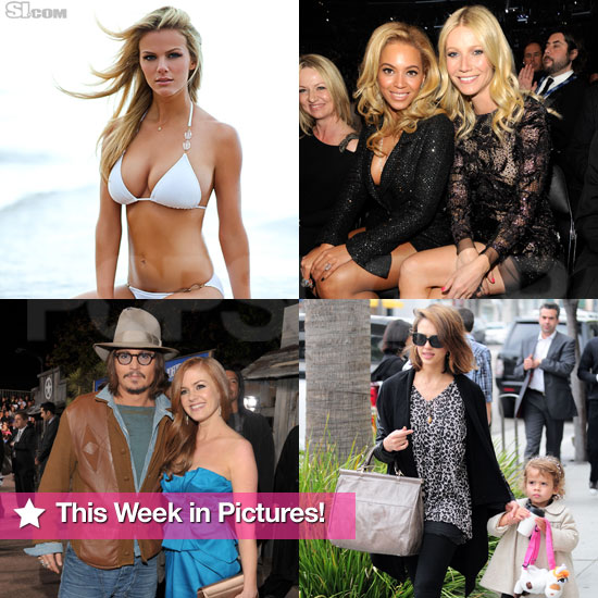 Brooklyn Decker Bikini, Jessica Alba's Pregnancy, Grammy Moments, and More in This Week in Pictures!