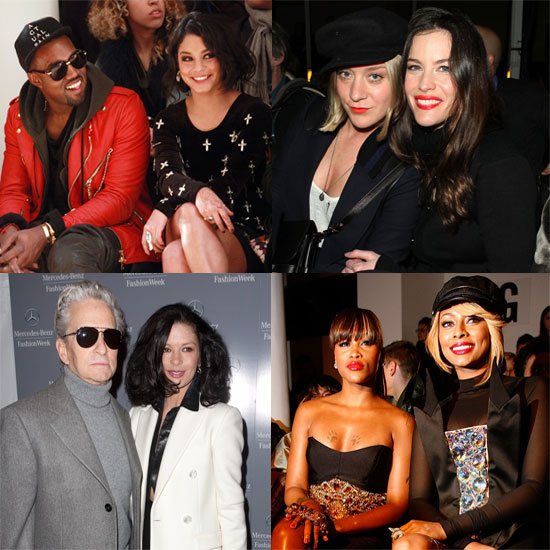 Famous Faces Continue to Flock to NYC For Fashion Week