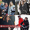 Pictures of Sarah Jessica Parker, Jon Hamm, Mark Wahlberg, and Tina Fey on Set